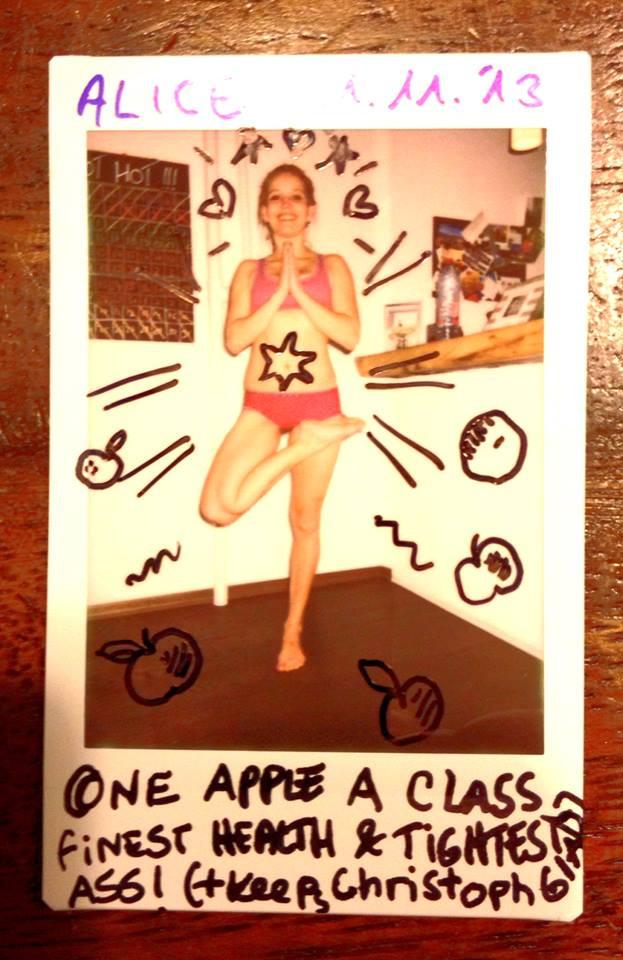 30 Tage Hot Yoga Challenge Alice
