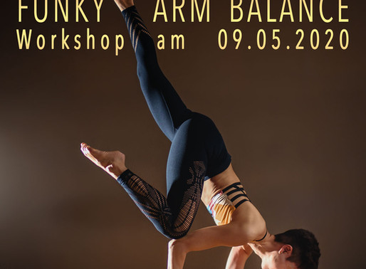 """Funky Arm Balance"" Workshop"