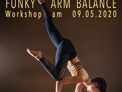 """Funky Arm Balance"" Workshop"