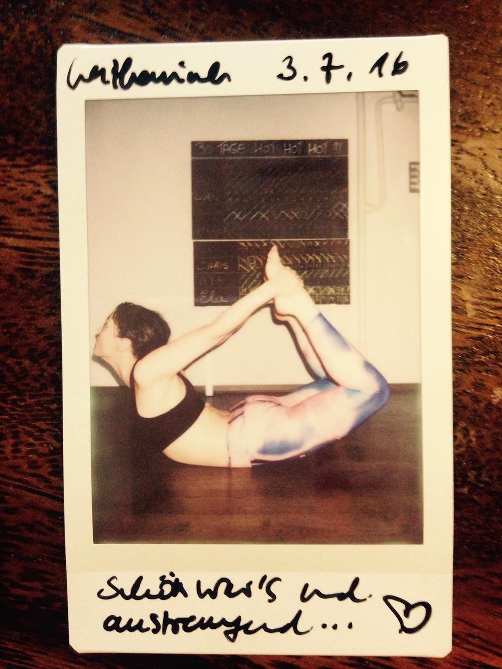 30 Tage Hot Yoga Challenge Katharina