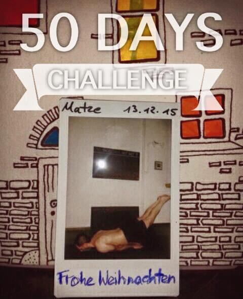 50 Tage Hot Yoga Challenge Matze