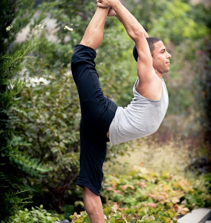 Joseph in Dancer Pose