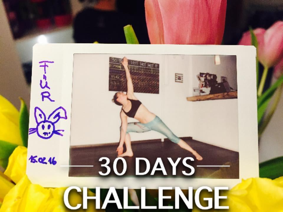 30 Tage Hot Yoga Challenge Ela