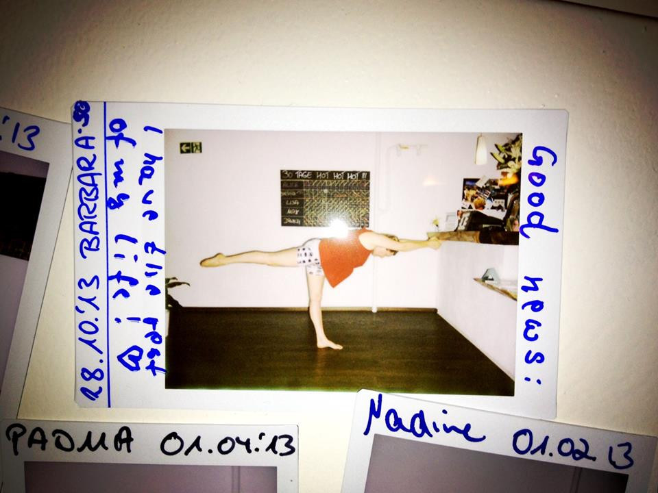 30 Tage Hot Yoga Challenge Barbara