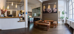 Foyer unseres Studios Yoga39°