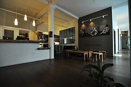 Das Foyer unseres Yogastudios zwischen Rudolfplatz und Belgischem Viertel in Köln