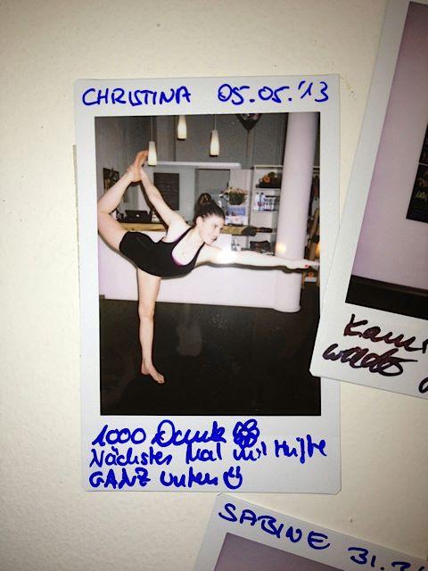 30 Tage Hot Yoga Challenge - Christina