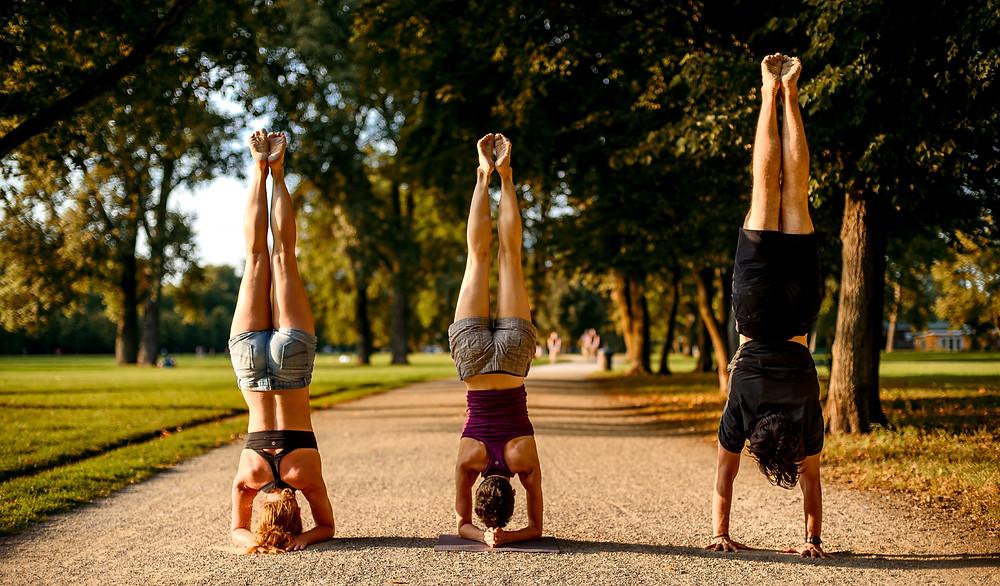 Kopfstand, Unterarmstand, Handstand Workshops
