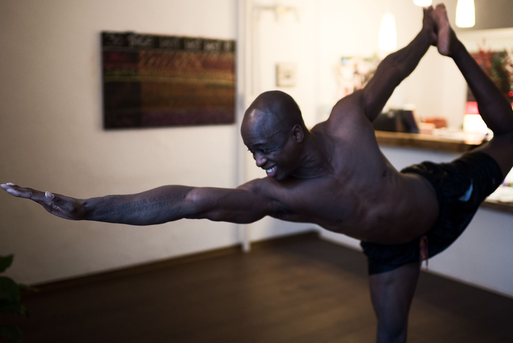 30 Tage Hot Yoga Challenge: Carlos
