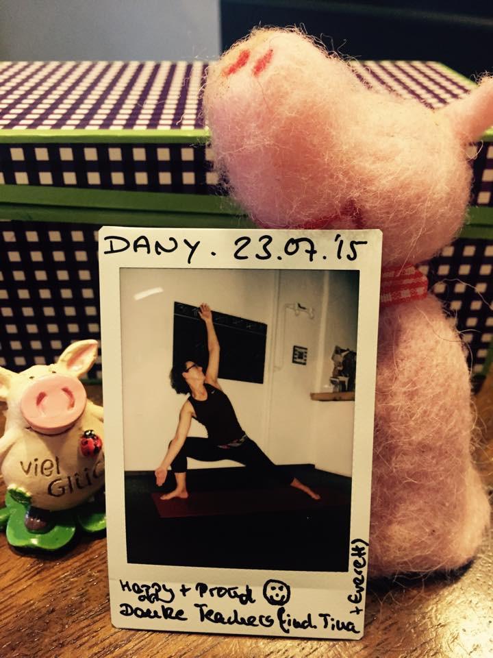 30 Tage Hot Yoga Challenge Dany