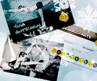 Gutscheine zu Weihnachten bequem online erwerben!