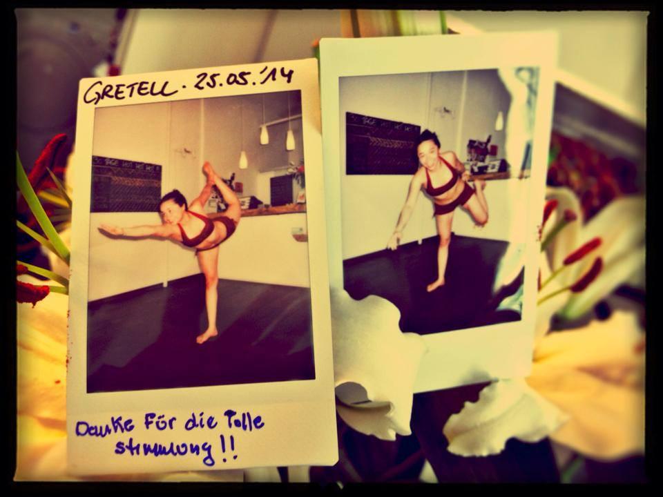 30 Tage Hot Yoga Challenge Gretell
