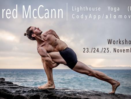 Workshopreihe mit Jared McCann