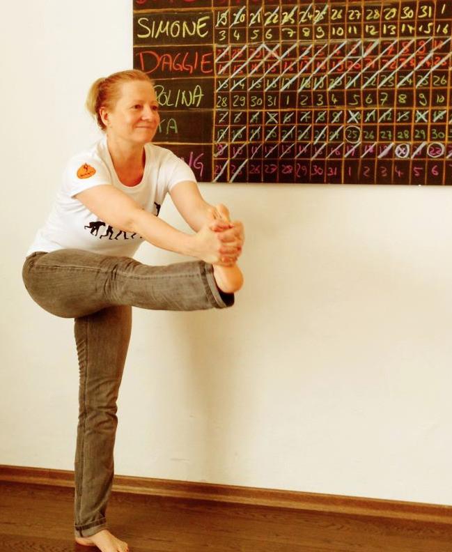 30 days hot yoga challenger Daggie