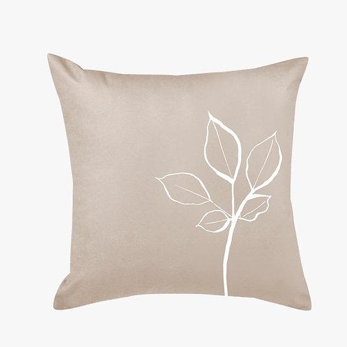 Capa almofada em folha