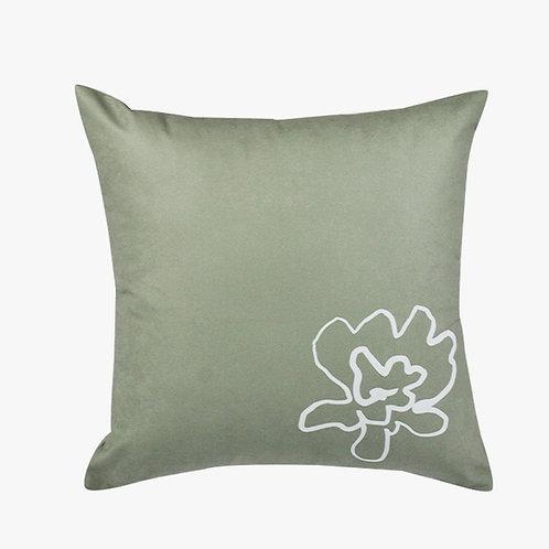 Capa almofada flor