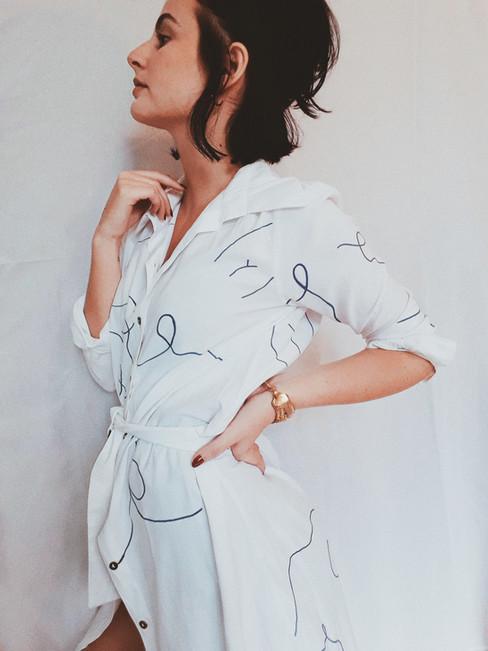 Desenho em roupa | 2019