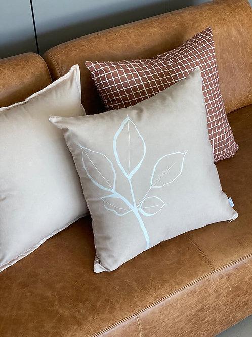 Cushion Cover Em folha