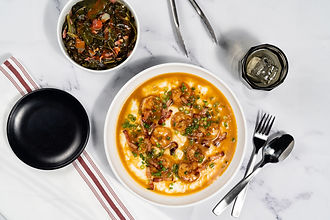 Chef Mike_Shrimp _ Grits with Collared G