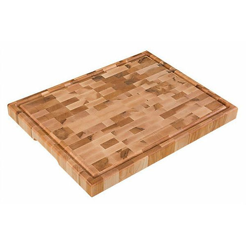 """Planches Labell 14"""" x 18"""" x 1.5"""" Butcher Block"""