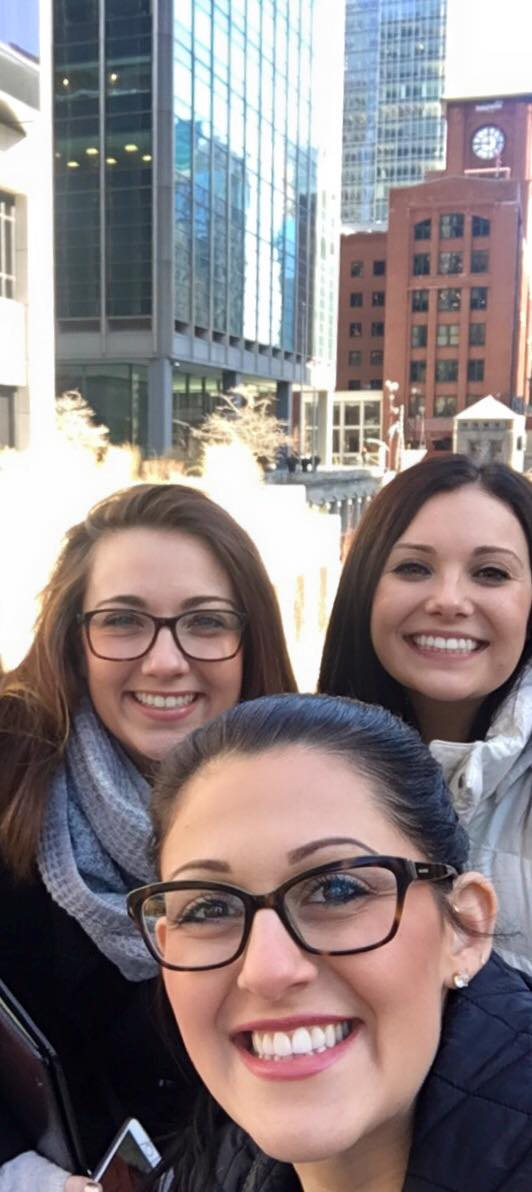 Marley, Stephanie and Alyssa in Chicago