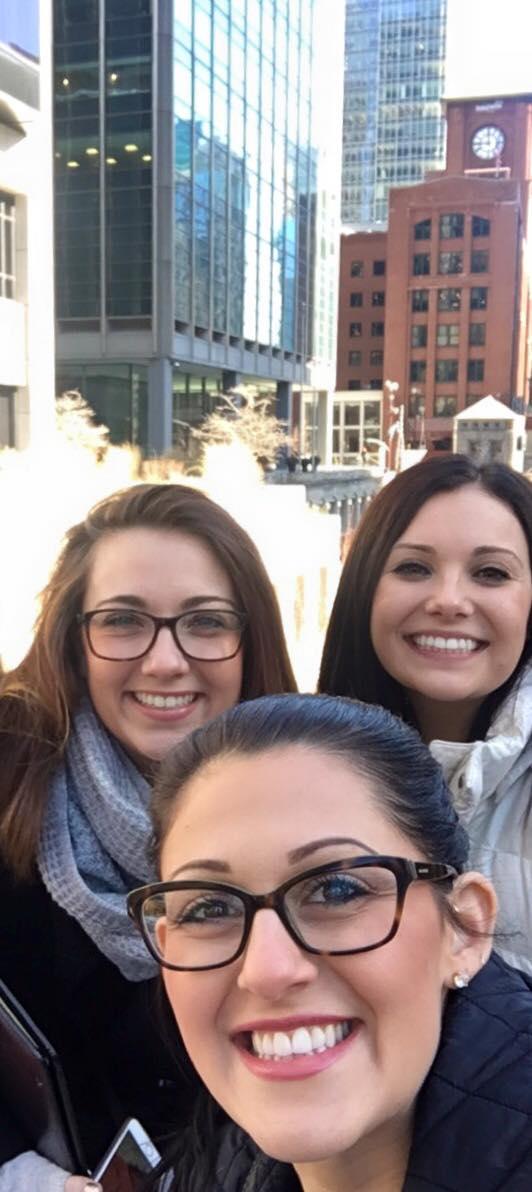 Marley, Stephanie and Alyssa in Chicago