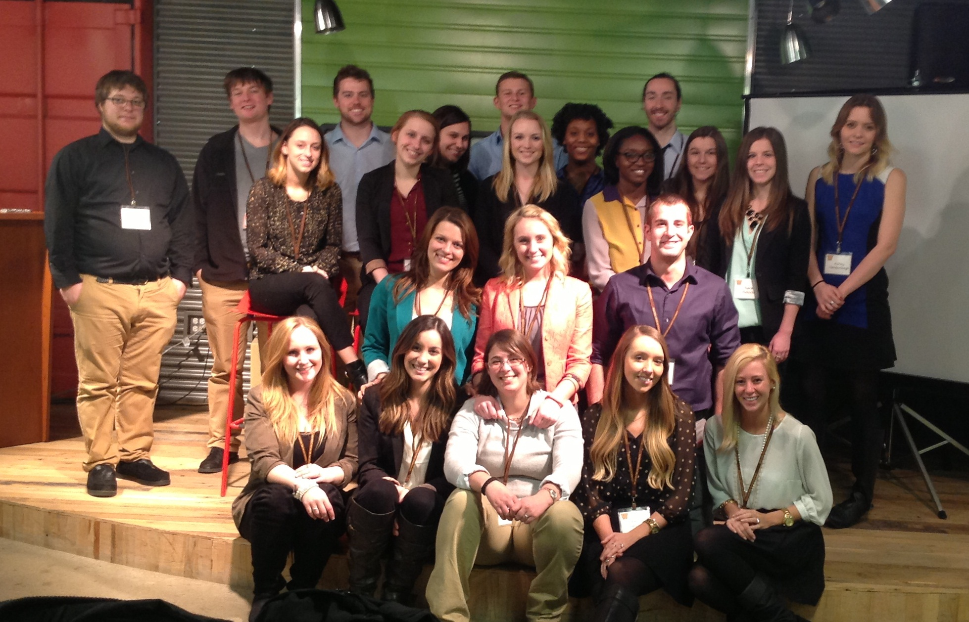 Students at Digitas