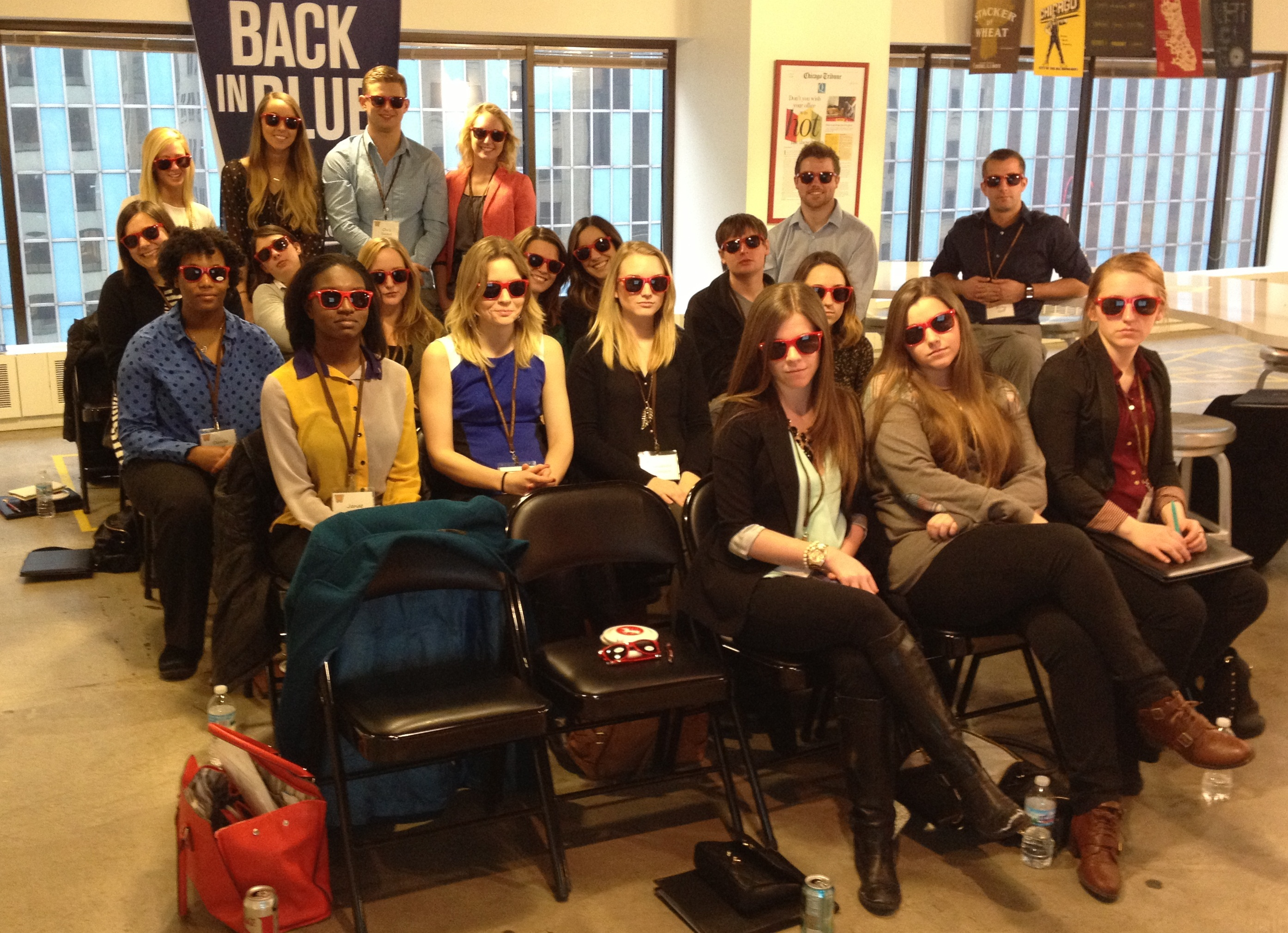 Cool sunglasses at Digitas