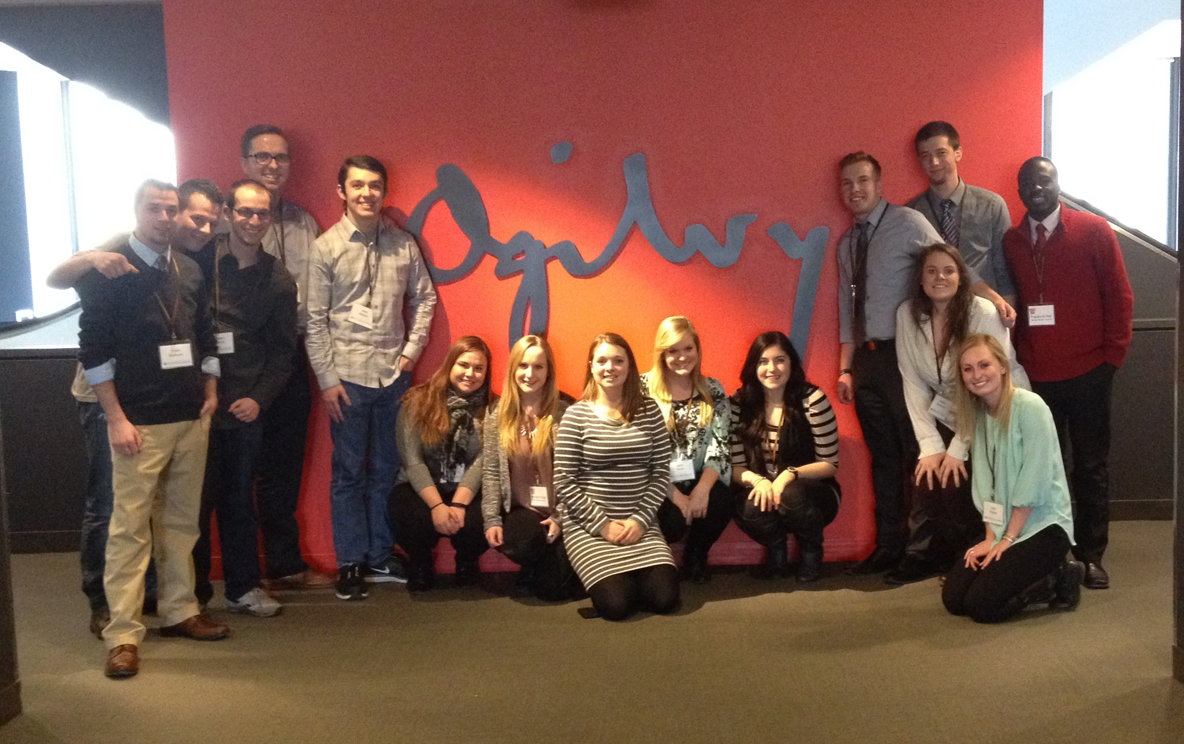 Students at Ogilvy