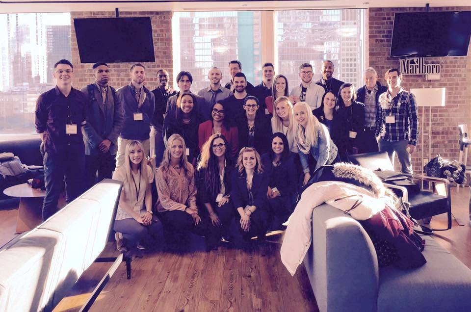 Advertising students tour Leo Burnett in Chicago