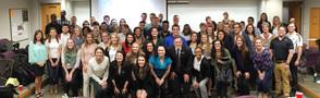Students at Pure Michigan presentation.j
