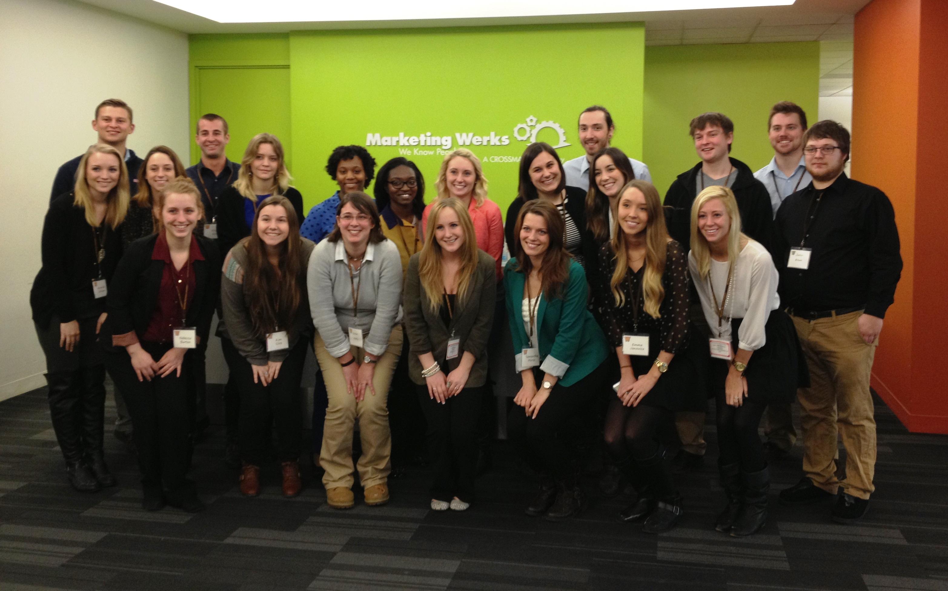 Students at Marketing Werks 4