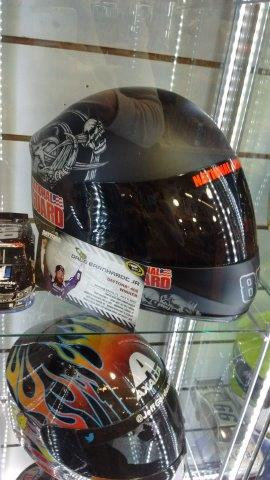Helmet - Nationwide - Skull
