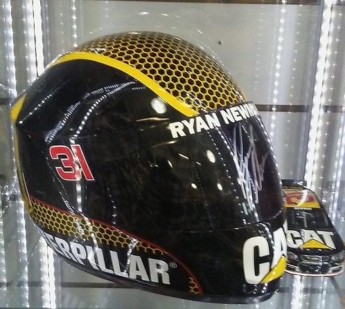 Replica Helmet - Ryan Newman - Signed