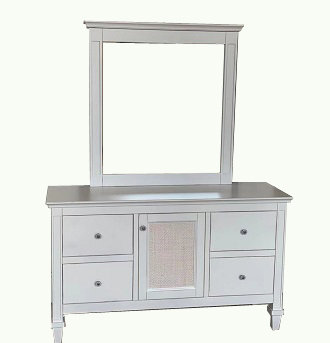 Montreal (H19-2302) Dresser with Mirror (Snooze Exclusive Range)