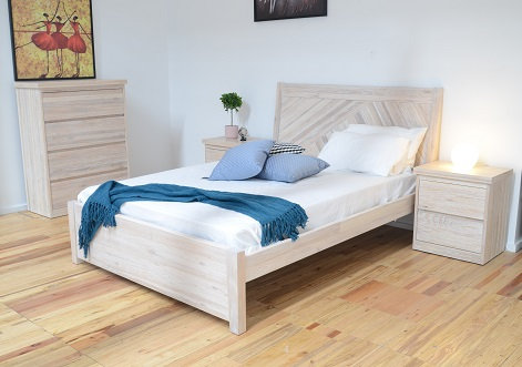 Tahiti Bedroom in White