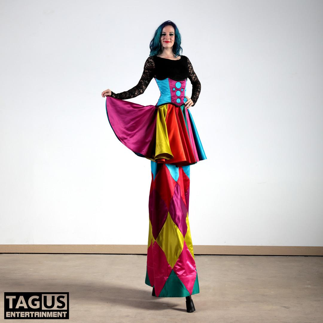 Colorful Stiltwalker