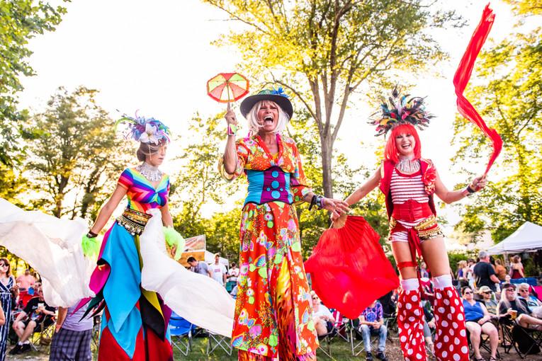 Festival Stiltwalkers