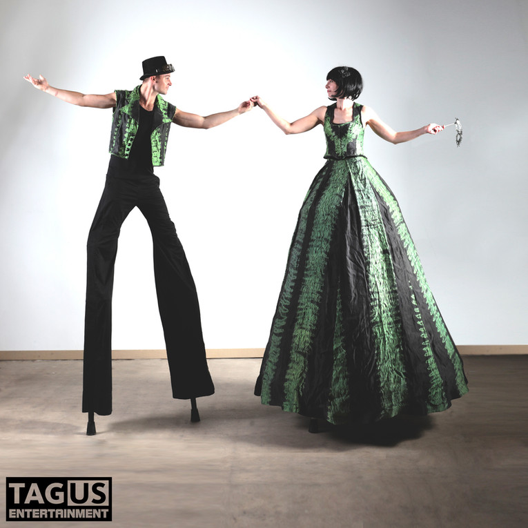 Stylish Hand-Dyed Gowns and Vests