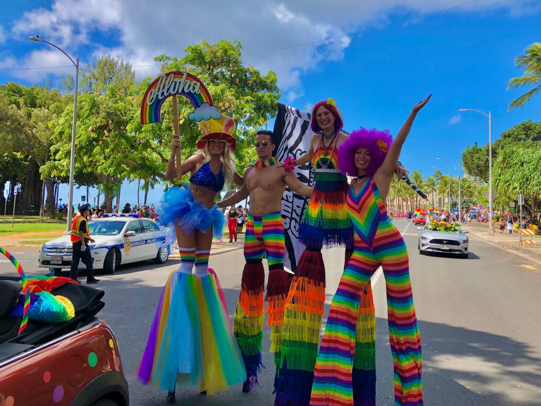 Hawaiian Rainbow Pride