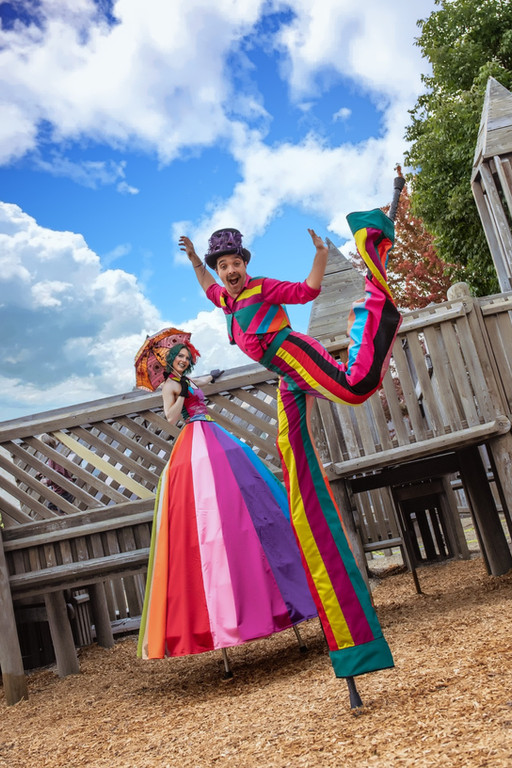 Rainbow Themed Costumes