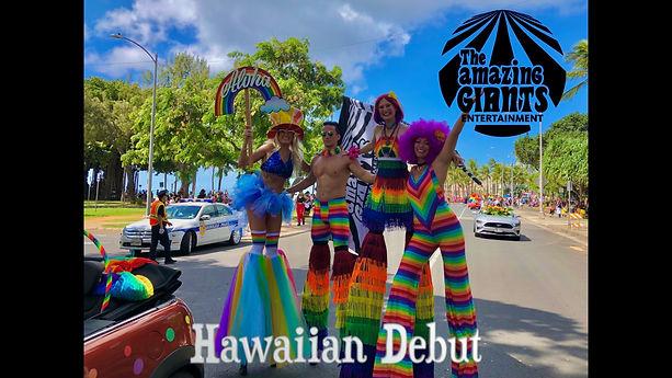 Hawaiian Debut