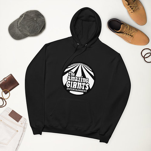 """The Amazing Giants Hoodie (Black and White) """"I Do Amazing Things""""  Back"""