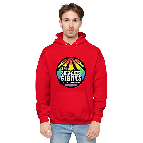 The Amazing Giants Rainbow logo Hoodie