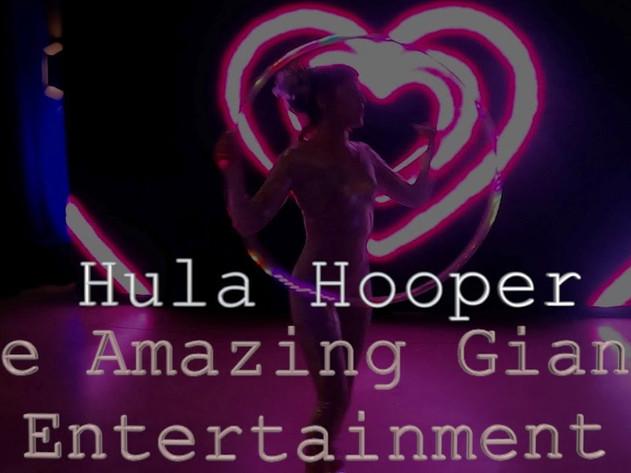 LED Hula-Hoop Acts