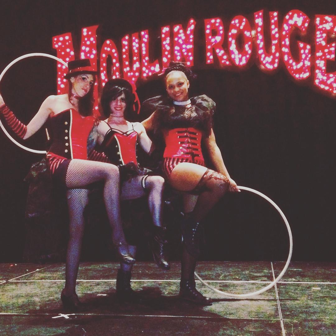 Moulin Rouge Cabaret Dancers