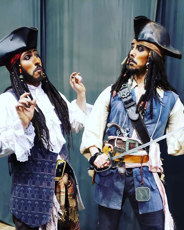 Jack Sparrow look alikes