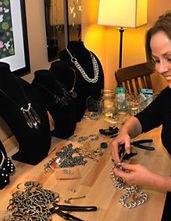 Beth Carenbauer unexpected art jewelry