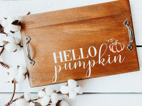 Hello Pumpkin Charcuterie Board