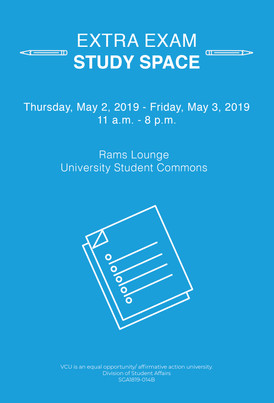 Study Space Poster